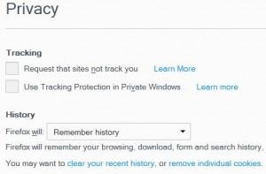 webpush browser settings